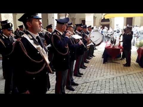 Occidentali's karma - Fanfara Polizia di Stato (Cisterna 10 aprile 2017)