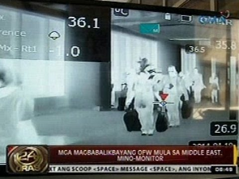 24 Oras: Tatlong Pilipinong nurse sa Saudi Arabia, positibo sa MERS-COV