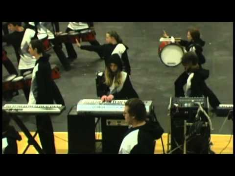 Jefferson Forest High School Drum Line 2013: UNDO