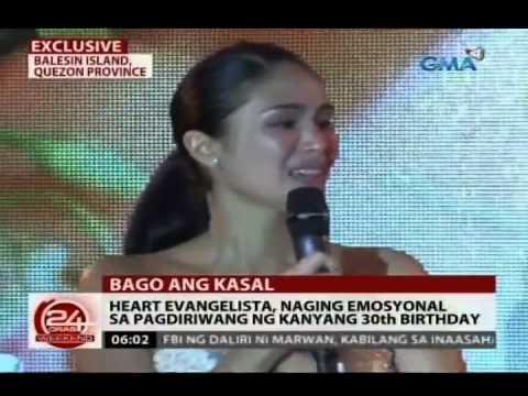 24Oras: Heart Evangelista, emosyonal sa pagdiriwang ng kanyang kaarawan