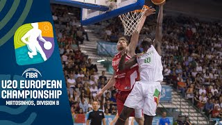 Portugal v Georgia Full Game FIBA U20 European Championship Division B 2019