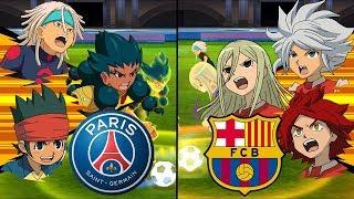 Inazuma Eleven UCL Semi-Final ~ Paris Saint-Germain vs Barcelona ※Pokemon Anchor※