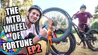 MTB WHEEL OF FORTUNE - EP 2 - DIRT AND ENDURO CHALLENGE