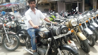 ROYAL ENFIELD BULLET BIKES IN CHEAP PRICE | SECOND HAND SUPRERBIKES MARKET IN KAROL BAGH DELHI INDIA