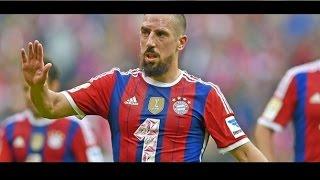 FC Bayern 2014/15 • Franck Ribery • The Magician • HD