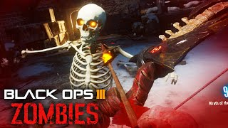 Black Ops 3 Zombies - Turn Zombies Into Skeletons! Der Eisendrache Easter Egg!