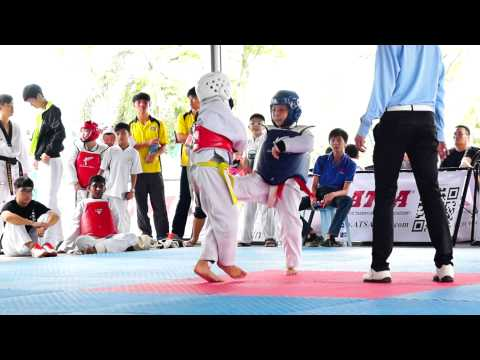 A61 Activity Malaysia Batu Pahat Kejohanan Moo Duk Kwan Taekwondo Negeri Johor 2015 ATSA Sparring