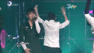 100212 2PM - Special Stage on Music Bank