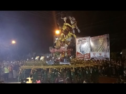 Parade Ogoh Ogoh Sumerta Kota Denpasar 2017