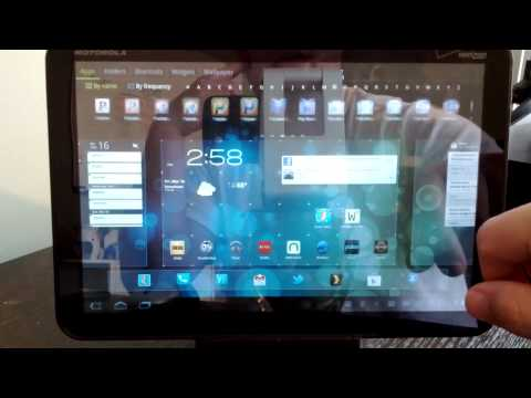Quick Look: Go Launcher HD for Android tablets