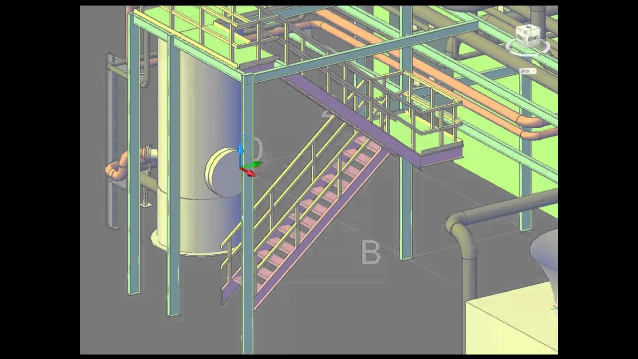 Introduction to autocad plant 3d youtube for Plante 3d dwg