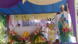 Download Lagu Khotbah Uskup Agung Medan Mgr. Anicetus Sinaga, OFM.Cap di Stasi St. Michael Kpg. Saragi ~ Parkis Gratis STAFABAND