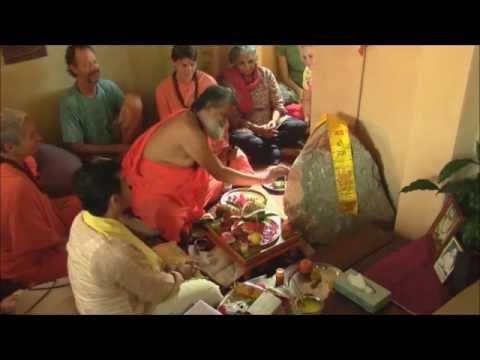 Sri Hanuman Puja in Sri Devpuriji Ashram Brisbane