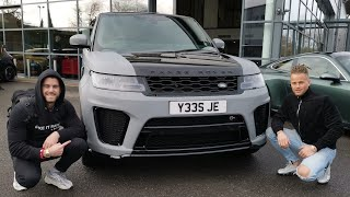 MY TWIN BROTHER BOUGHT A 2019 RANGE ROVER SPORT SVR!!
