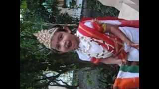 Aadi participate in Fancy Dress Competition as Bharat Mata