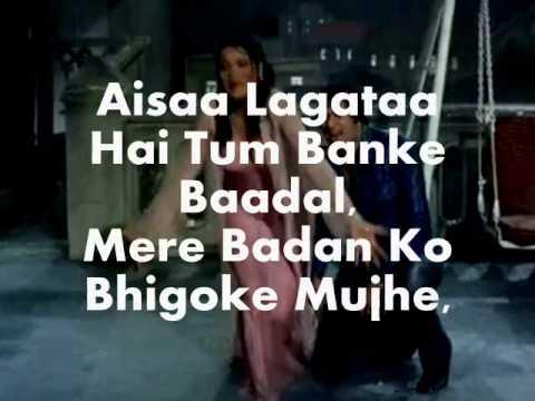 Bheegi Bheegi Raaton Mein-Karaoke & Lyrics -Ajanbee