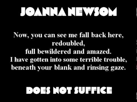 Joanna Newsom - Does Not Suffice