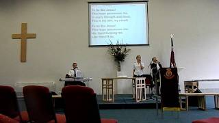 I know HE cares for me.  salvation army church carrum downs victoria