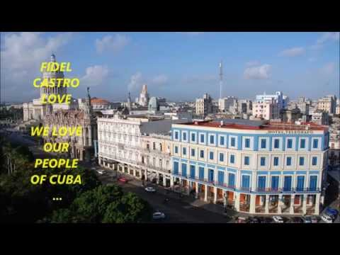 WE LOVE CUBA . WE LOVE FIDEL CASTRO @ CONTINENT OF AMERICAS COUNCIL EDUCATION