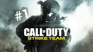 [FR] #1 | Call Of Duty Strike Team Android - Mission 1