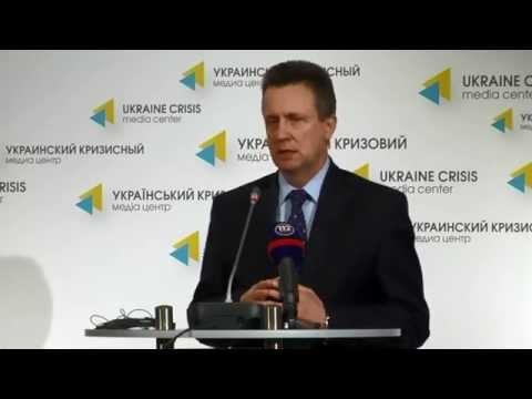 NATO Parliamentary Assembly. Ukraine Crisis Media Center, 17th of October 2014