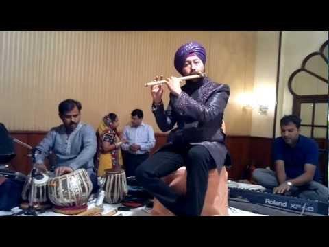 jyoti kalash chhalke on flute live-Baljinder singh ballu +919302570625...