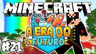 ARCO IRIS NO MINECRAFT?! - Era do Futuro: Minecraft #21