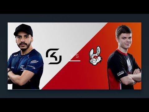 CS:GO - SK vs. Misfits [Overpass] Map 2 - Semifinal - ESL Pro League Season 6 Finals