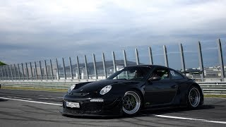Porsche 9ff RSR 911 LOUD! Accelerations, Fly-by's