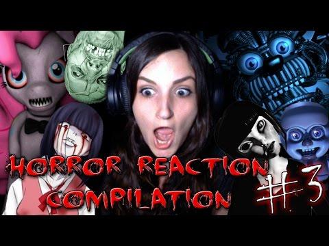 Best Horror Game Reactions Compilation #3 (Happy Halloween!!)