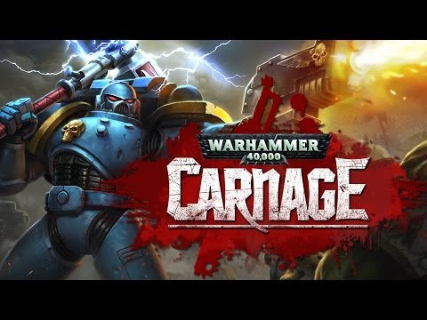Warhammer 40,000: Carnage Launch Trailer - Now in the App Store!