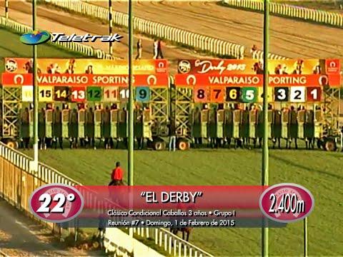 """IL CAMPIONE • Cl. """"El Derby"""" [GI - 2.400 mts.] (Sporting Club • 01/02/2015)"""