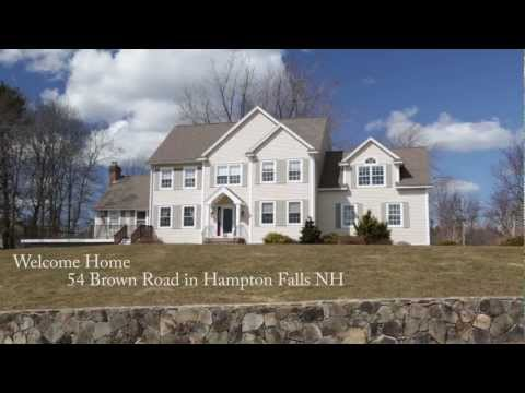 Video 54 Brown Road, Hampton Falls NH | MLS# | Erin Proulx | Keller Williams Coastal