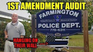 1st Amendment Audit  Farmington Police
