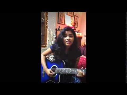 Kailash Kher-Teri deewani(Kailasa) acoustic cover by Sravani...