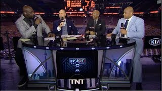 FULL: Inside the NBA | Shaq & Charles Barkley react to Raptors def Bucks 100-94; Kawhi: 27 Pts