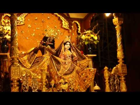 Shayan Or Night Aarti In Iskcon New York video