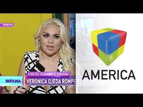 Qué dijo Verónica Ojeda sobre el posible casamiento de Maradona con Oliva