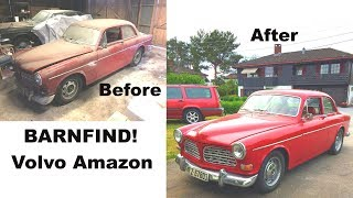 I BOUGHT A BARNFIND!!! (Volvo Amazon, engine start, overhauling)