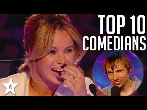 TOP 10 Funniest Comedians EVER on Britain's Got Talent | Got Talent