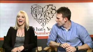 Anna Faris and Chris Evans Interview for WHAT
