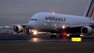 Llegada primer vuelo Airbus A380 de Air France al AICM - Ciudad de México