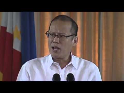 President Benigno Aquino III speech during Ceremonial Signing of Sin Tax Reform 2012
