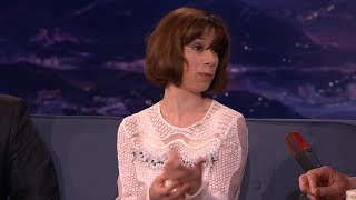 Sally Hawkins Is Highly Accident Prone CONAN 15Ja2015