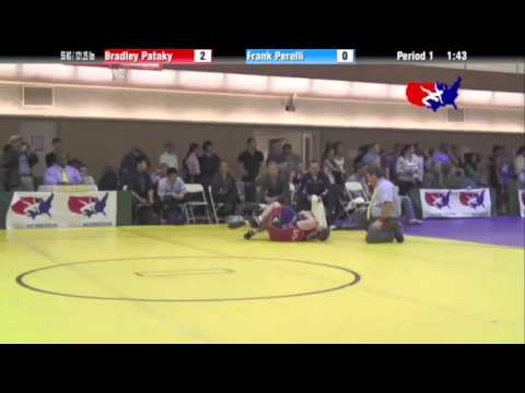 FS 55 KG - C1 - Bradley Pataky (NLWC) vs. Frank Perelli (NYAC)