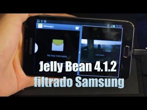 Cómo actualizar samsung Galaxy Note GT-N7000 Jelly Bean 4.1.2 [Rooteada]