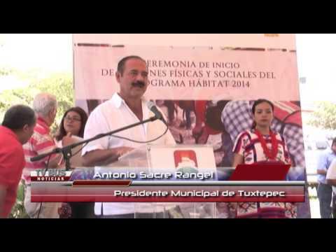 Inauguran acciones por más de 16 mdp en Tuxtepec