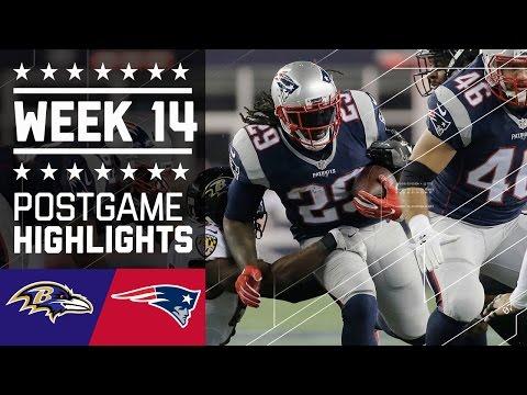 Ravens Vs Patriots Nfl Week 14 Game Highlights