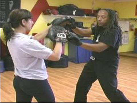 Jeet Kune Do Martial Arts Techniques : Uppercut-Hook Jeet Kune Do Punch Combinations Image 1