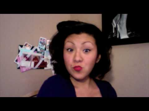 How to:Marilyn Monroe Short Hair/Remington Curlers Review